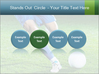 Soccer player PowerPoint Template - Slide 76