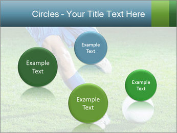 Soccer player PowerPoint Template - Slide 77