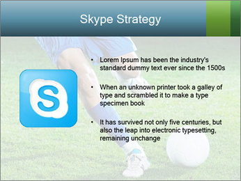 Soccer player PowerPoint Template - Slide 8