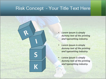 Soccer player PowerPoint Template - Slide 81