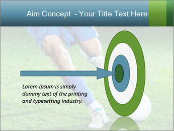 Soccer player PowerPoint Template - Slide 83