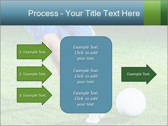 Soccer player PowerPoint Template - Slide 85