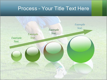 Soccer player PowerPoint Template - Slide 87