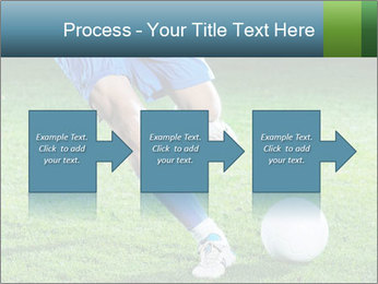 Soccer player PowerPoint Template - Slide 88