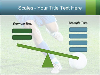 Soccer player PowerPoint Template - Slide 89