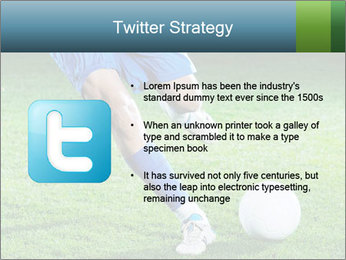 Soccer player PowerPoint Template - Slide 9
