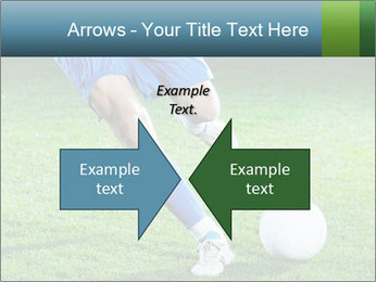Soccer player PowerPoint Template - Slide 90