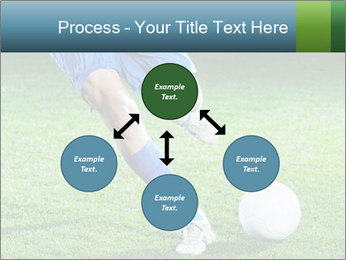 Soccer player PowerPoint Template - Slide 91