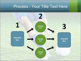 Soccer player PowerPoint Template - Slide 92