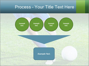 Soccer player PowerPoint Template - Slide 93