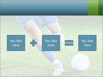Soccer player PowerPoint Template - Slide 95