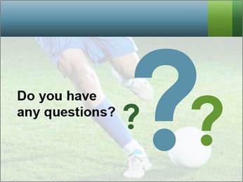 Soccer player PowerPoint Template - Slide 96