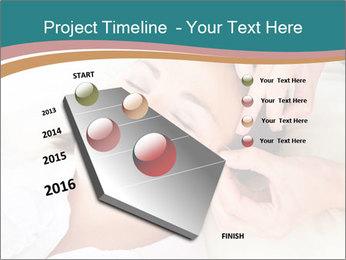 Professional acupuncturist PowerPoint Template - Slide 26