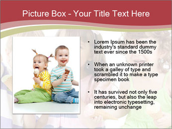 Happy children PowerPoint Template - Slide 13
