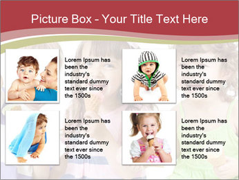 Happy children PowerPoint Template - Slide 14
