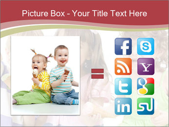 Happy children PowerPoint Template - Slide 21