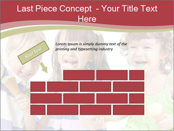 Happy children PowerPoint Template - Slide 46