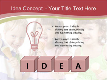 Happy children PowerPoint Template - Slide 80