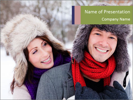 Wintertime PowerPoint Template