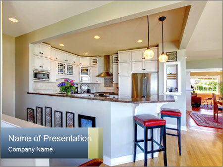 House design PowerPoint Template