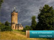 Castle tower PowerPoint Templates