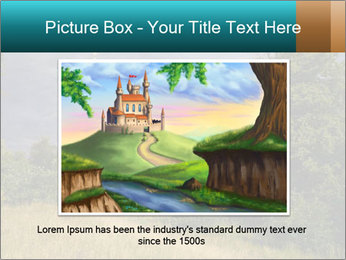 Castle tower PowerPoint Template - Slide 15