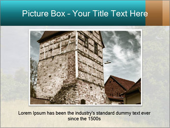 Castle tower PowerPoint Template - Slide 16