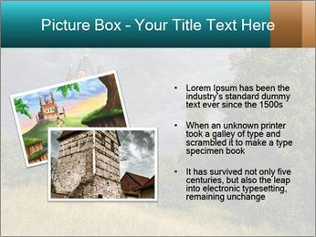 Castle tower PowerPoint Template - Slide 20