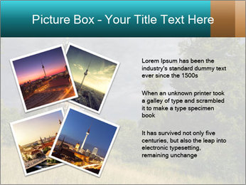 Castle tower PowerPoint Template - Slide 23