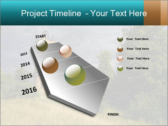 Castle tower PowerPoint Template - Slide 26