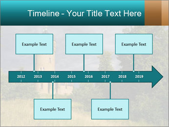 Castle tower PowerPoint Template - Slide 28
