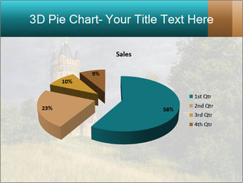 Castle tower PowerPoint Template - Slide 35
