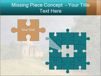 Castle tower PowerPoint Template - Slide 45
