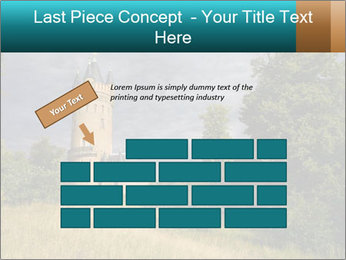 Castle tower PowerPoint Template - Slide 46