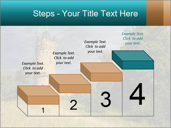 Castle tower PowerPoint Template - Slide 64
