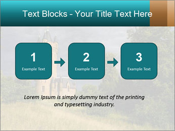 Castle tower PowerPoint Template - Slide 71