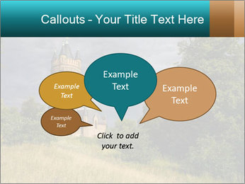 Castle tower PowerPoint Template - Slide 73