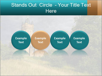 Castle tower PowerPoint Template - Slide 76