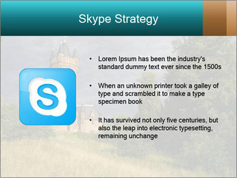 Castle tower PowerPoint Template - Slide 8