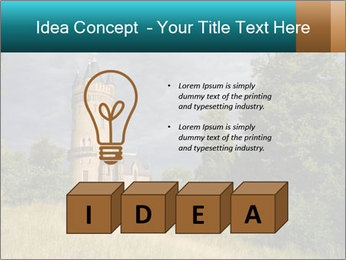 Castle tower PowerPoint Template - Slide 80