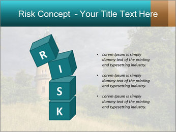 Castle tower PowerPoint Template - Slide 81