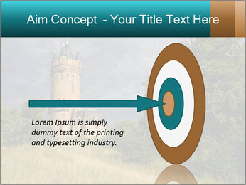Castle tower PowerPoint Template - Slide 83