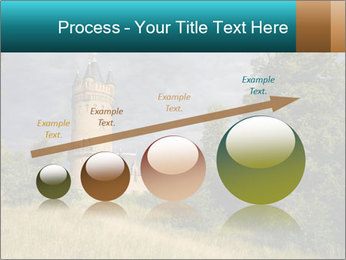 Castle tower PowerPoint Template - Slide 87