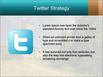Castle tower PowerPoint Template - Slide 9