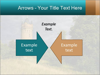 Castle tower PowerPoint Template - Slide 90