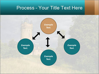 Castle tower PowerPoint Template - Slide 91