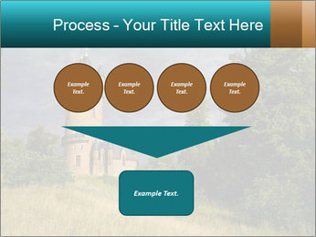 Castle tower PowerPoint Template - Slide 93