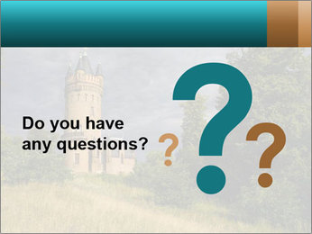Castle tower PowerPoint Template - Slide 96