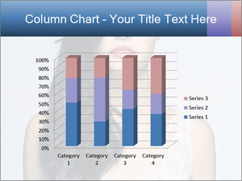 Woman measuring her body PowerPoint Templates - Slide 50