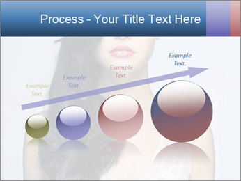 Woman measuring her body PowerPoint Template - Slide 87
